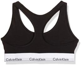 Calvin Klein Damen Bustier  Dreieck BH Modern Cotton - Bralette, Schwarz (BLACK 001), M - 1