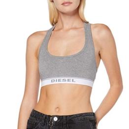 Diesel Damen Sport-BH UFSB-MILEY, Grau (Dark Grey Melange 96X-0Eauf), M - 1